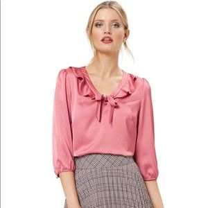 REVIEW Ishmy top in Dusty Rose, 3/4 sleeves size14